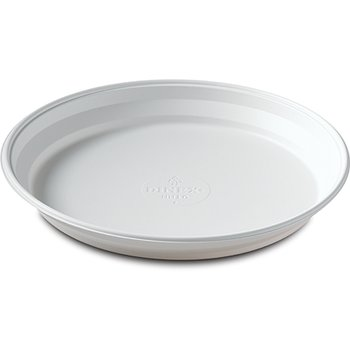 """DXHH10 - Entree (one compartment) Disposable Plastic Dishware 7-3/4"""" (500/cs) - White"""