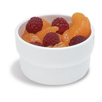 "DX361502 - Monkey Dish (melamine) 3""D 1-3/4""H 4oz (24/cs) - White"