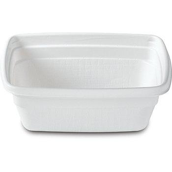 DXHH20A - Rect. Soup Bowl for Aladdin Temp-Rite II (Aladdin is a registered trademark of Temp-Rite L.L.C.) 8 oz. (1000/cs) - White