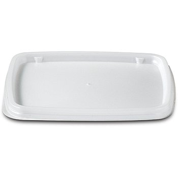 DXTT30 - Rectangular soup bowl lid- fits DXTT20 - White
