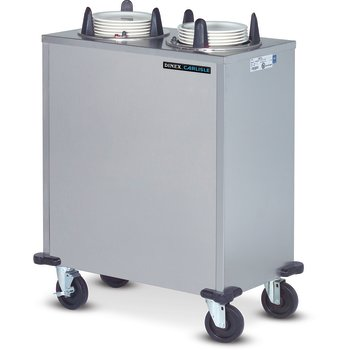 "DXIDP2E1200 - Plate Dispensers Enclosed Style- 2 Silo for 12"" Plate 36.50""L x 20.75""D - Stainless Steel"
