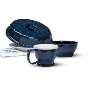 DX9300B50 - Tropez Bowl, High-Temp 9oz (48/cs) - Dark Blue
