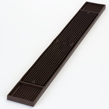 "1060201 - Bar Mat 3.25"" x 26.75"" - Brown"