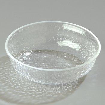 SB6607 - Pebbled Bowl Round 14.1 oz - Clear