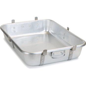 """60345 - Roast Pan 28qt. (Use as Base) 24"""" x 18"""" x 4.5"""" - Aluminum"""