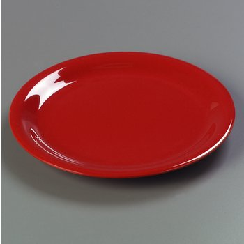 3300405 - Sierrus Dinner Plate - Narrow Rim 9&quot; - Red