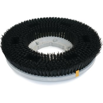 "361900N28-5N - Colortech™ Nylon General Scrubbing Stiff Brush 19"" - Black"