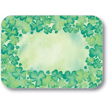 "DXHS052M001 - St. Patrick's Day Design Traycover Size: M w/ Straight Edge/Round Corner 13-5/8"" x 18-3/4"" (100/pk)"