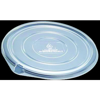 DXL5400PCLR - Flat Lid For MW5401 Container Clear PK/300 - Clear
