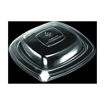 DXL500PDCLR - Dome Lid for Square Side Dish - Clear