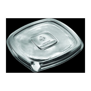DXL500PCLR - Flat Lid for Square Side Dish - Clear