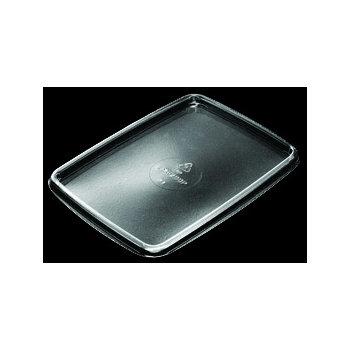 DXL200PCLR - Flat Lid for Microwaveable Soufflé Side Dish - Clear