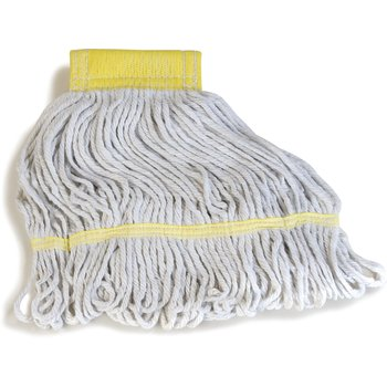 369412B00 - Flo-Pac® Small Yellow Band Mop With Looped-End