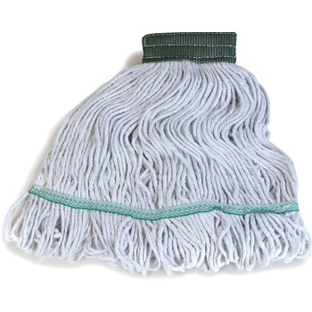 369418B00 - Flo-Pac® Medium Green Band Mop With Looped-End