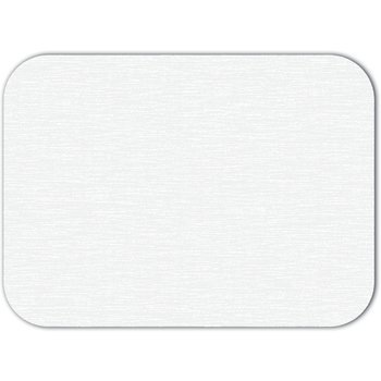 "DX5999S00102 - White Embossed Traycover Size: S w/ Straight Edge/Round Corner 12-1/4"" x 17"" (2000/cs)"