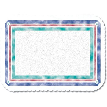"DXR30001M - Illusions Pattern Tray Cover Size: M w/Scalloped Edge/Round Corner 13-5/8"" x 18-3/4"" (1000/cs)"