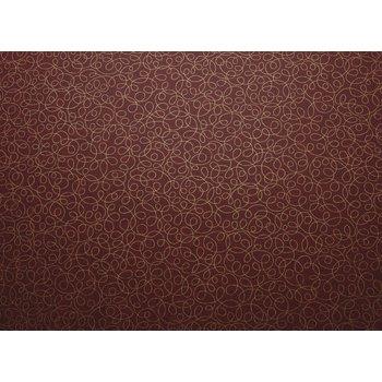 """59035252SM176 - Vative Series Rove Tablecloth 52"""" x 52"""" - Lava"""
