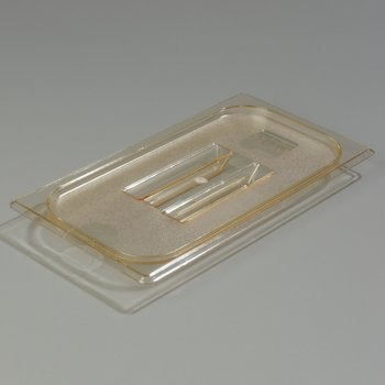 1047013 - TopNotch® Lid - Food Pan HH 1/3 Size - Amber