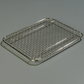 602203 - DuraPan™ Half-Size Stainless Steel Steam Table Hotel Pan Drain Grate