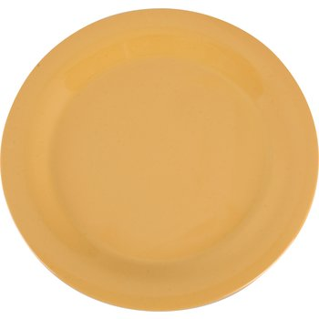 "3300222 - Sierrus™ Melamine Narrow Rim Dinner Plate 10.5"" - Honey Yellow"