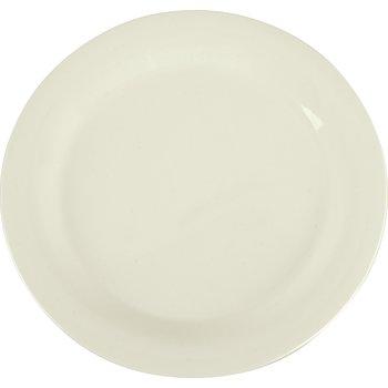 "3300242 - Sierrus™ Melamine Narrow Rim Dinner Plate 10.5"" - Bone"