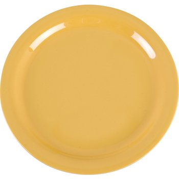 """4385222 - Dayton™ Melamine Dinner Plate 9"""" - Honey Yellow"""