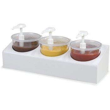030600 - 3-Crock Condiment Station Kit