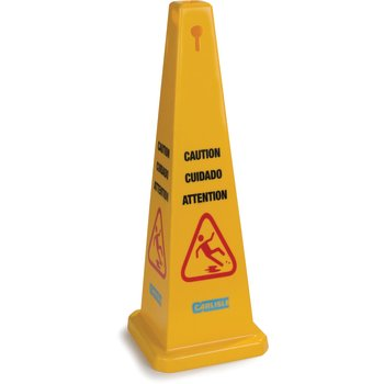 """3694104 - Caution Cones And Barriers Caution Cone 36"""" - Yellow"""