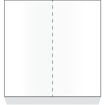 "DX6ST0010000 - Blank Laser-Compatible Sheets, Unprinted Both Sides 8-1/2""x11"" (2000/cs)"