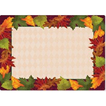 """DXHS344E001 - Autumn Colors Design Traycover Size: E w/ Straight Edge/Small Corner 11"""" x 18"""""""