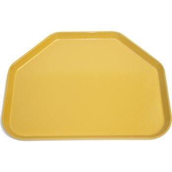 "1713FG023 - Glasteel™ Fiberglass Tray Trapezoid 18"" x 14"" - Gold"