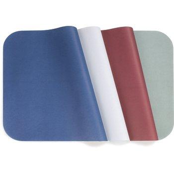 "DX5999MEW50 - M Size Solid White Traycovers 18.75""L x 13.63""W (2000/cs) - Midnight Blue"