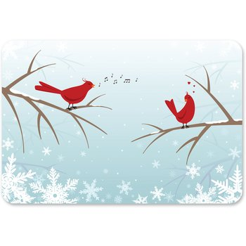 DXHS460M001 - Winter Birds (100/cs)