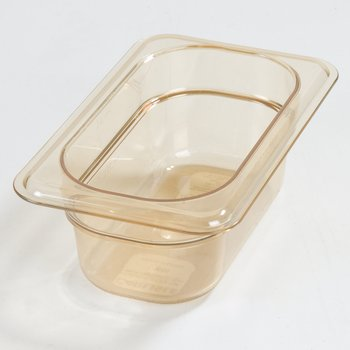 "3088613 - StorPlus™ Food Pan HH 2.5"" DP 1/9 Size - Amber"