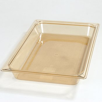 "10400B13 - StorPlus™ Full Size Food Pan HH 2.5"" DP Full Size - Amber"