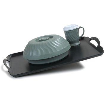 "DXRST1520NSQ03 - Room Service Tray Low-Profile Non Skid Tray 15"" x 20"" (6/cs) - Black"