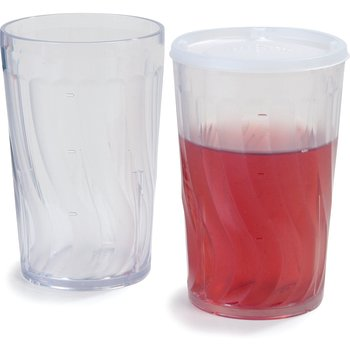 DX4GC807 - Tumbler Swirl 8 oz (72/cs) - Clear