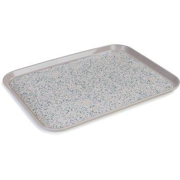 "DXSMC1418NSM31 - Glasteel™ Non-Skid Tray 14"" x 18"" - Latte"
