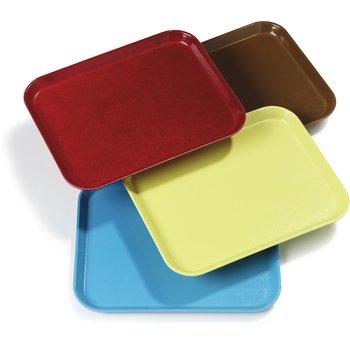"""2216FGQ97005 - Glasteel™ Tray 12.1"""" x 16"""" - Bay Leaf Brown"""