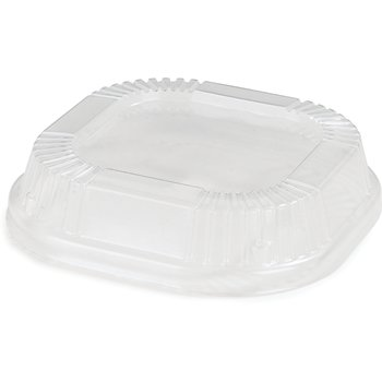 DX11810174 - Dome Lid for 10oz Square Dish (1000/cs) - Clear