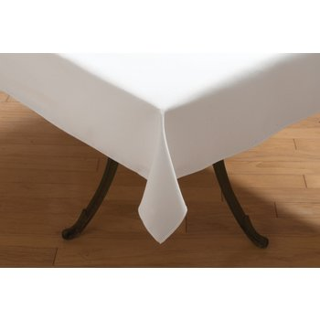 "53787272SM010 - SoftWeave™ Square Tablecloth 72"" x 72"" - White"