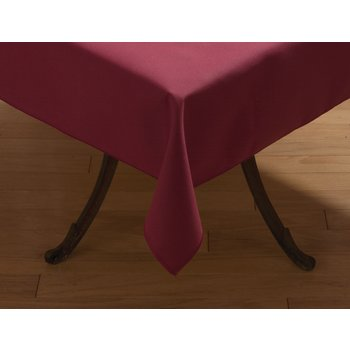 "53785252SM046 - SoftWeave™ Square Tablecloth 52"" x 52"" - Burgundy"