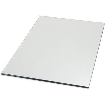 "SMR244823 - MirAcryl™ Rectangle Tray 48"" x 24"" - Mirrored"