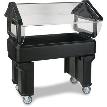 660503 - Six Star™ Portable with Legs Only 4' x 2' x 4.2' - Black