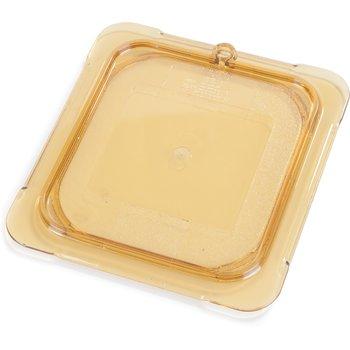 10516U13 - StorPlus™ Univ Lid - Food Pan HH Flat 1/6 Size - Amber