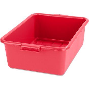 "N4401105 - Comfort Curve™ Tote Box 20"" x 15"" x 7"" - Red"