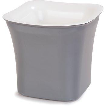 CM1401441 - Designer Coldmaster® 2 Qt Flared Square 2 qt - White-Charcoal