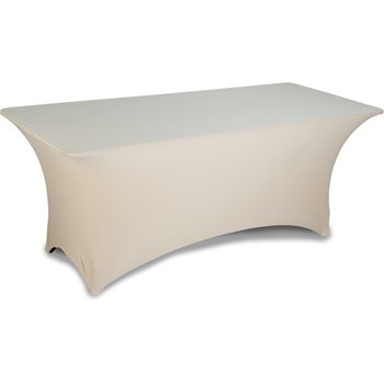 "EMB5026RT630049 - Embrace™ Rectangle Table Cover 72"" x 30"" x 30"" - Sandal-wood"