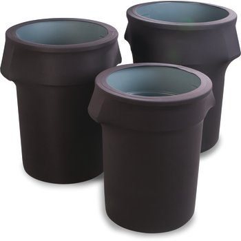 EMB5026WC55014 - Embrace™ Waste Container Cover 55 Gal - Black