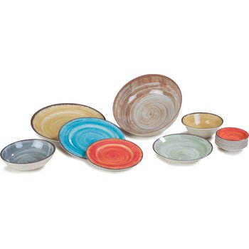 5400518 - Mingle Melamine Small Bowl 20 oz - Smoke